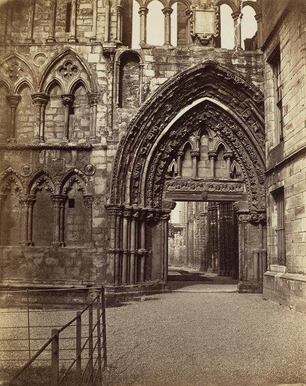 Doorway of Holyrood Chapel