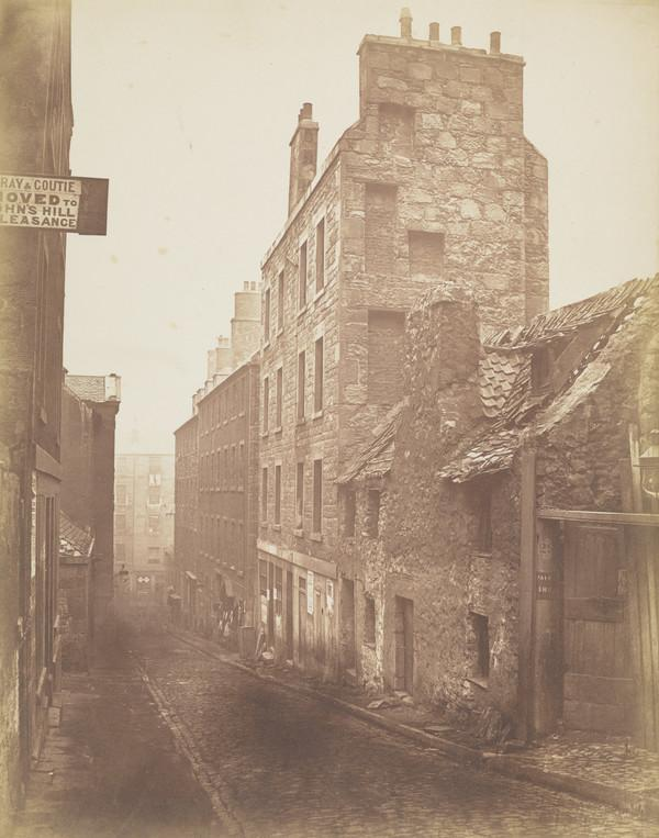 East side, Horse Wynd, Edinburgh (1871)