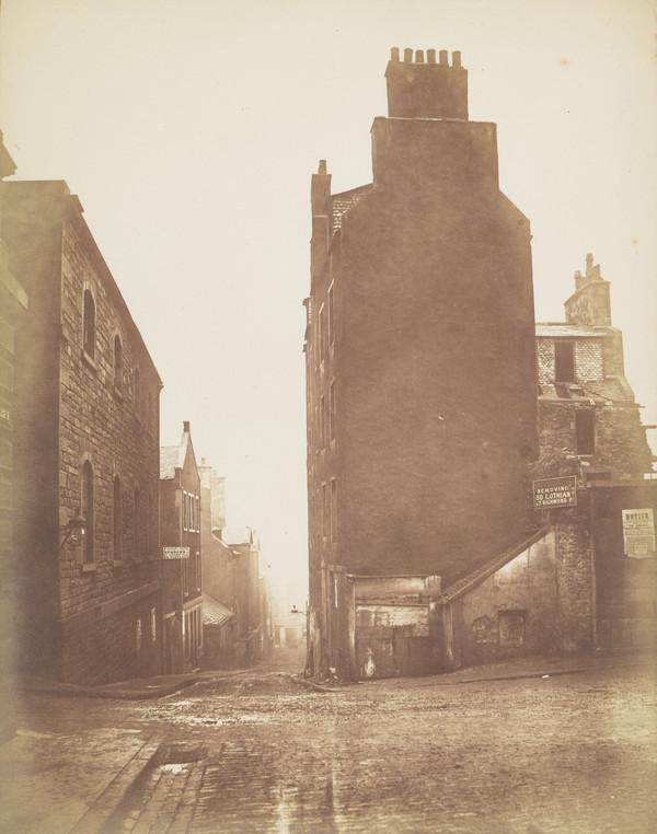 The Horse Wynd, Edinburgh (1871)