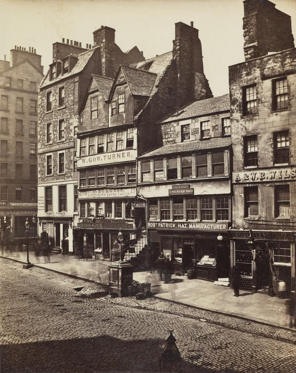 'Allan Ramsay's Shop, High Street Edinburgh'
