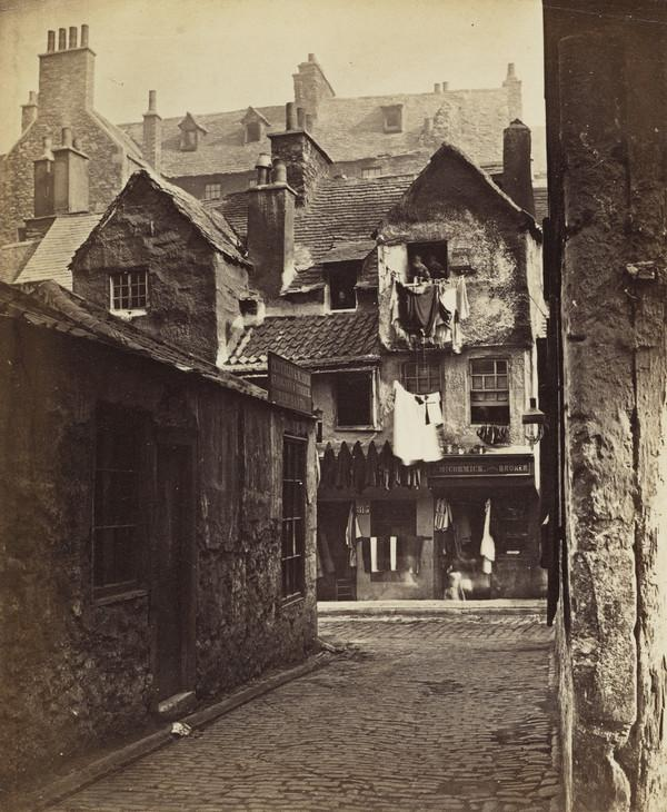'Timber Fronted House, Cowgate', Edinburgh