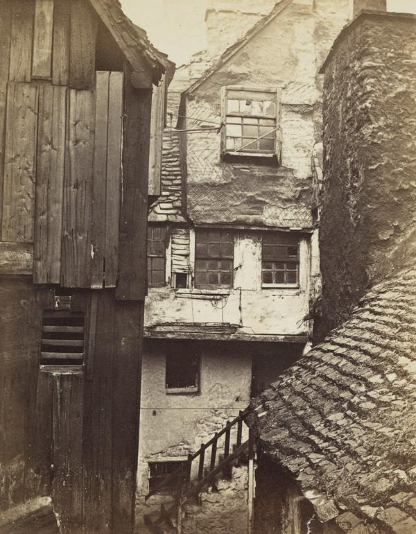 Bulls Close, Cowgate, Edinburgh (About 1858)