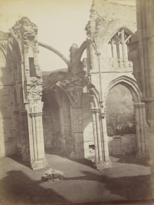 Melrose Abbey (March - April 1866)
