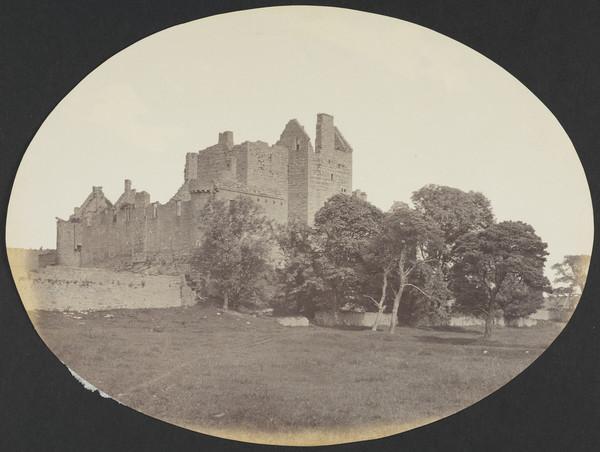Craigmillar Castle (About 1860)