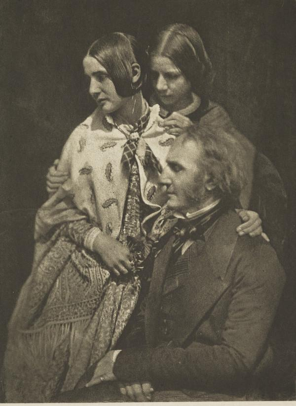 Miss Wilhelmina Fillans, Miss Fillans and James Fillans [Group 97] (1843 - 1847)