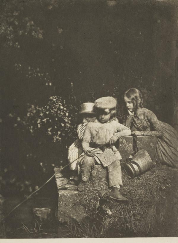 Arthur, John Hope and Sophia Finlay. 'At the Minnow Pool' [Group 99] (1843 - 1847)