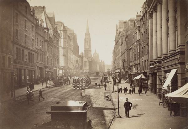 'High Street, Edinburgh' (About 1890)