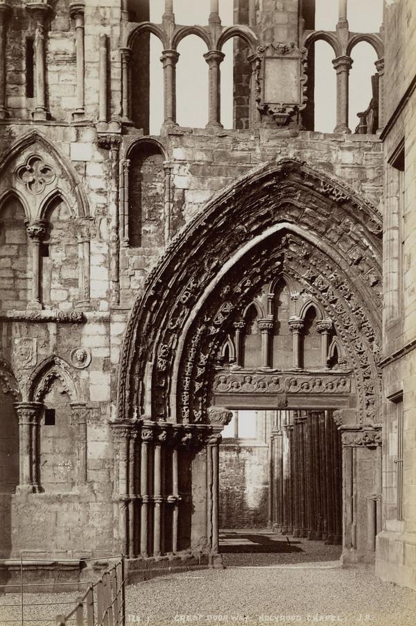 Great Door, Holyrood Chapel, Edinburgh