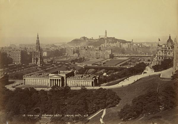 View from Edinburgh Castle, Looking East