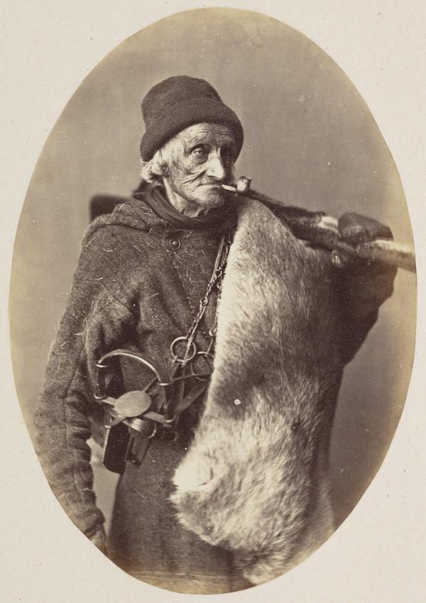 François Gros-Louis, Fur trapper (1866)