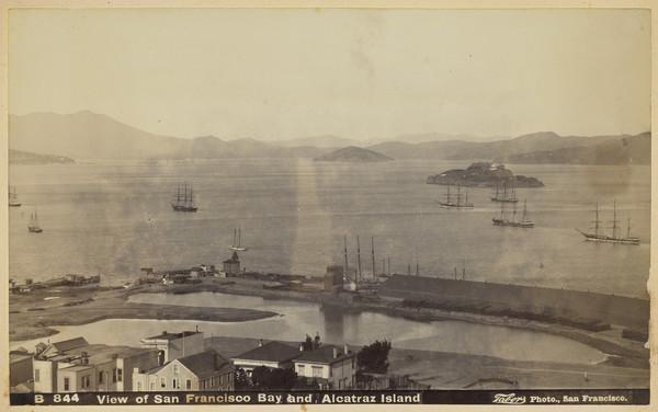 View of San Francisco Bay and Alcatraz Island