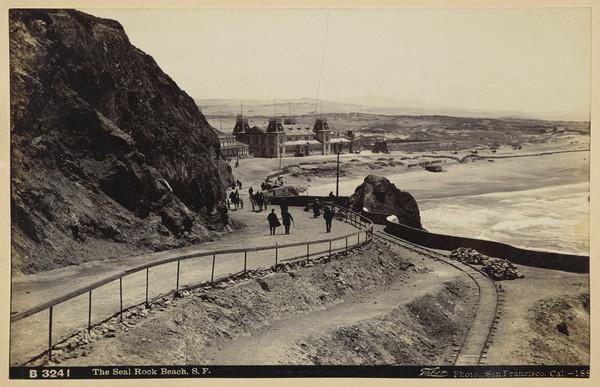 The Seal Rock Beach, San Francisco