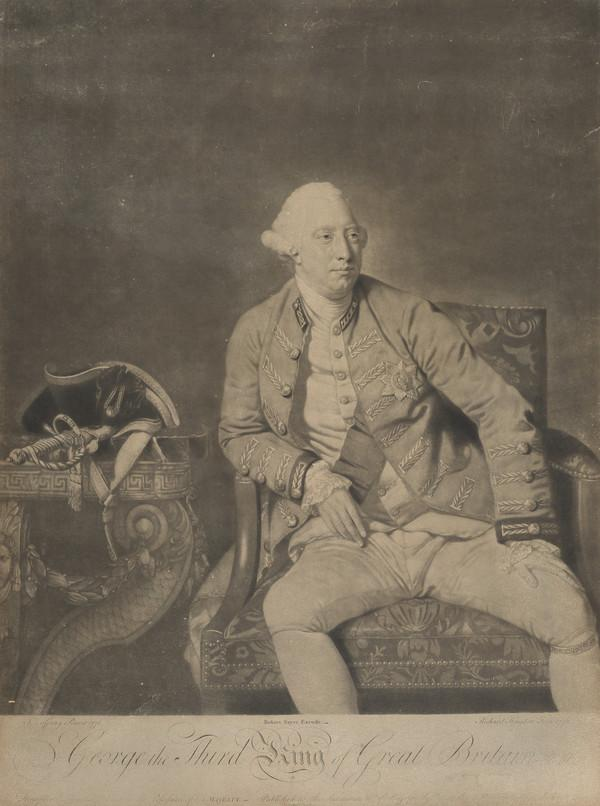George III, 1738 - 1820. Reigned 1760 - 1820 (Published 1772)