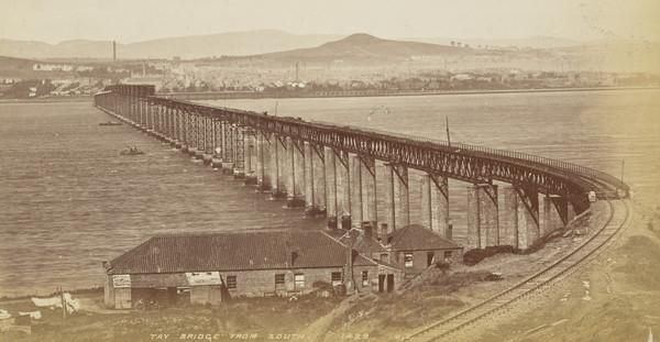 Tay Bridge From The South