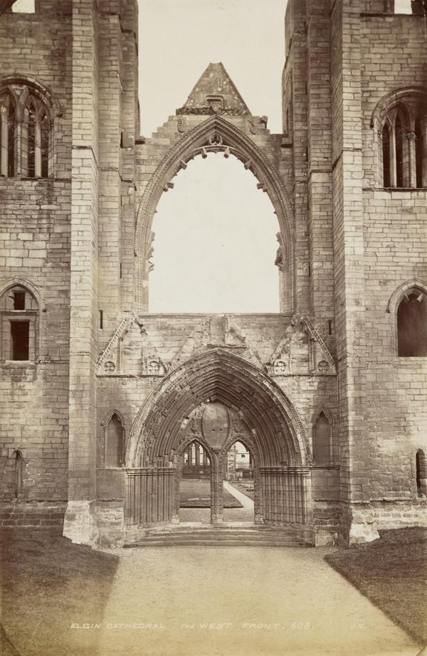 Elgin Cathedral, The West Front