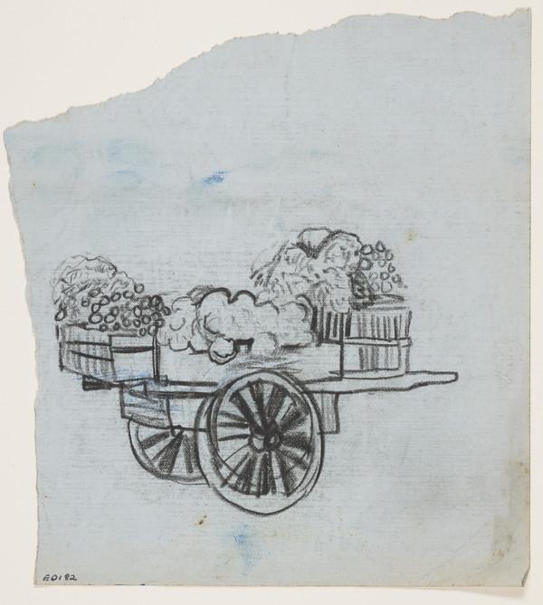 Cart Loaded with Farm Produce