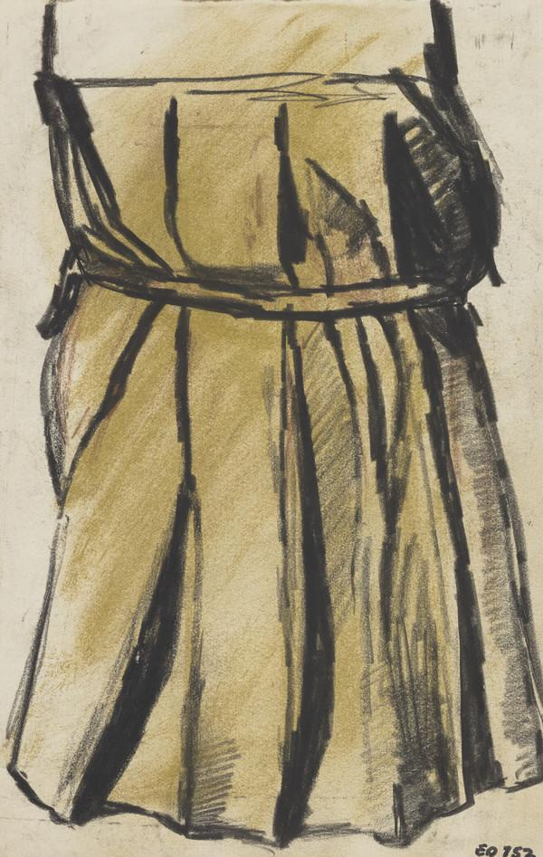 Study of a Girl in a Pleated Dress