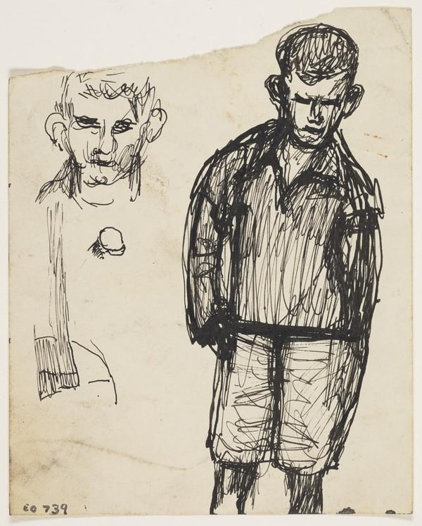 Two Studies of a Boy