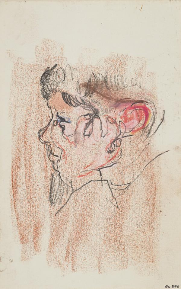 Head of a Boy (Andrew Macaulay), with his Hand on his Cheek
