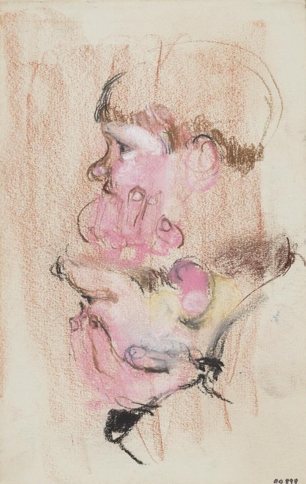 Head of a Boy (Andrew Macaulay), his Hand on his Chin