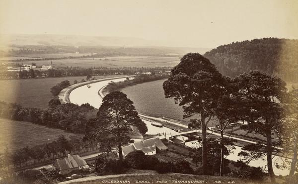 Caledonian Canal, From Tomnahurich