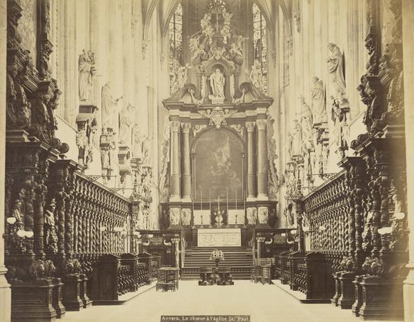 The Choir Of St Paul's Church, Antwerp