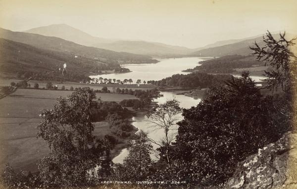 Loch Tummel, Queen's View