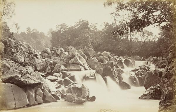 Rapids Above Rumbling Bridge