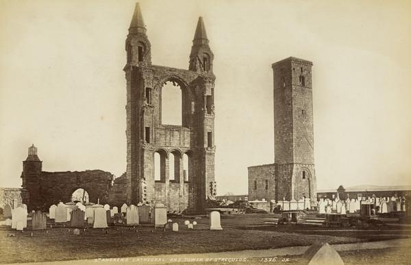 St Andrews Cathedral And Tower Of St Regulus