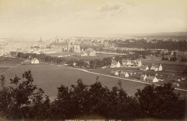 Inverness From Tomnahurrich