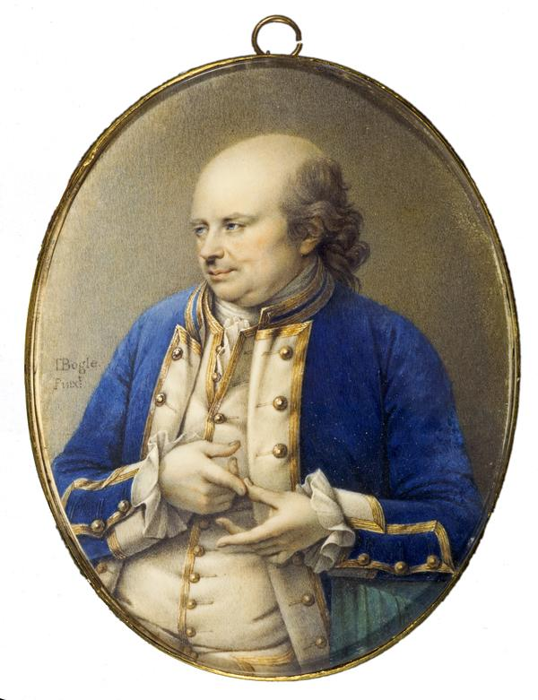 Commodore George Johnstone, 1730 - 1787. Naval commander and Governor of Western Florida (About 1774)