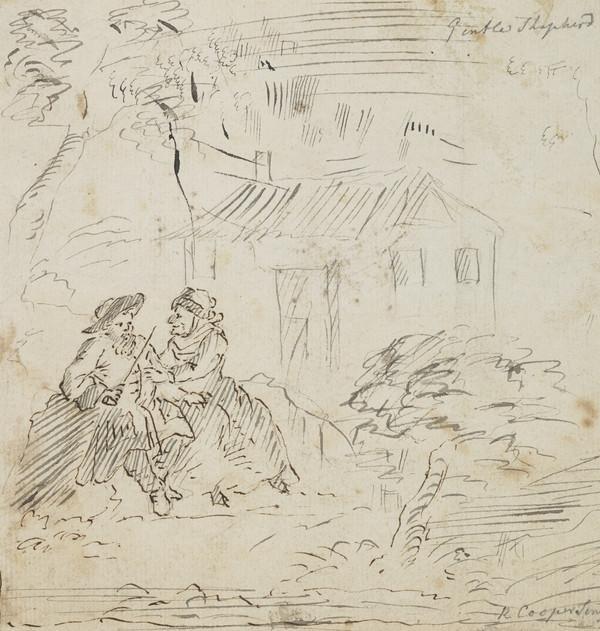 Scene from 'The Gentle Shepherd'
