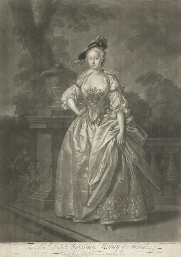 Lady Christian Montgomerie, d. 1748. Daughter of the 9th Earl of Eglinton; wife of James Moray of Abercairny