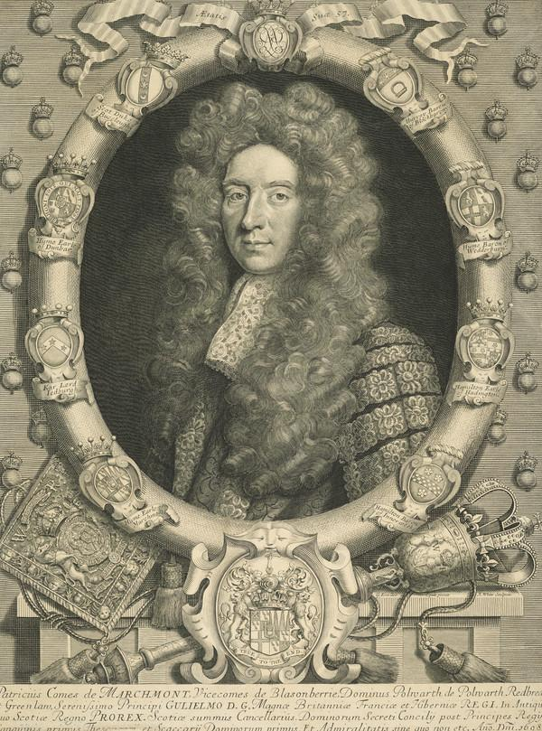 Sir Patrick Hume, 1st Earl of Marchmont, 1641 - 1724. Statesman (1608)