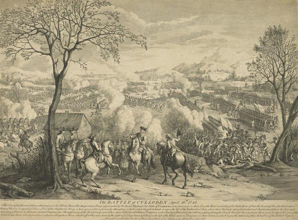 Battle of Culloden (showing Duke of Cumberland)