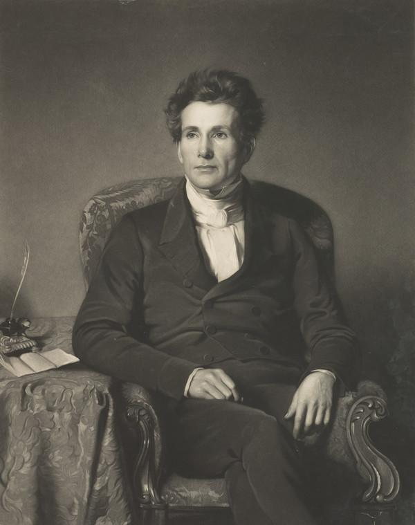 Rev. Alexander Duff, 1806 - 1878. Missionary and educationalist (Published 1851)