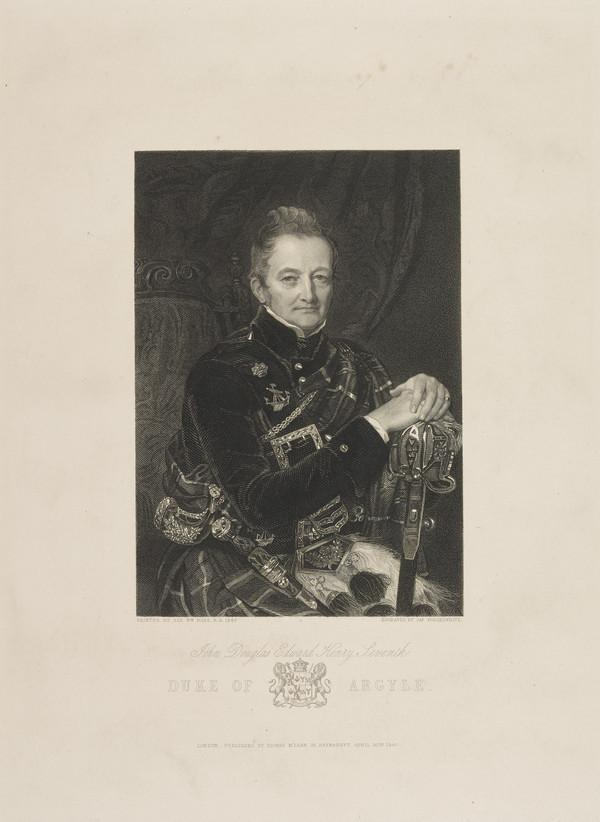John Campbell, 7th Duke of Argyll, 1777 - 1847 (Published 1847)