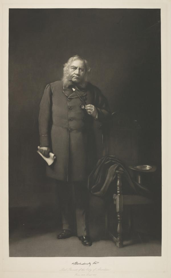 Sir Alexander Anderson, 1802 - 1887. Lord Provost of Aberdeen