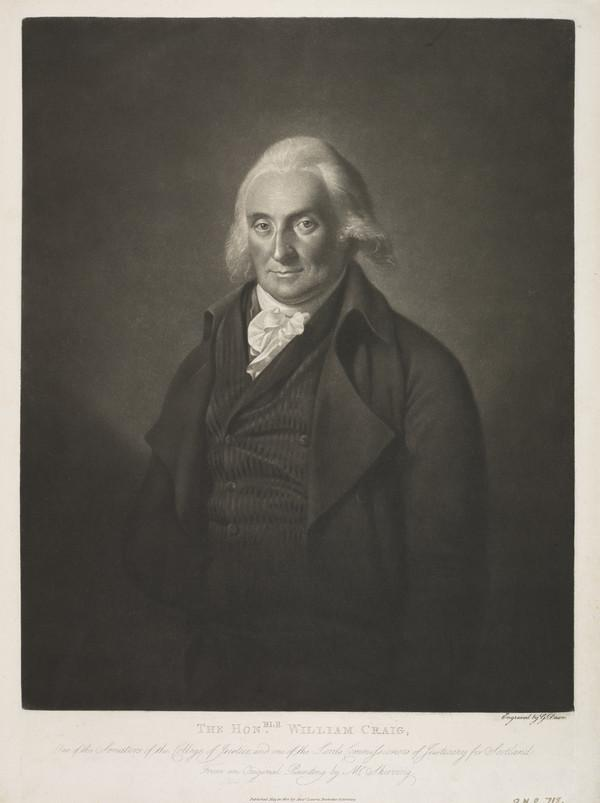 William Craig, Lord Craig, 1745 - 1813. Scottish judge