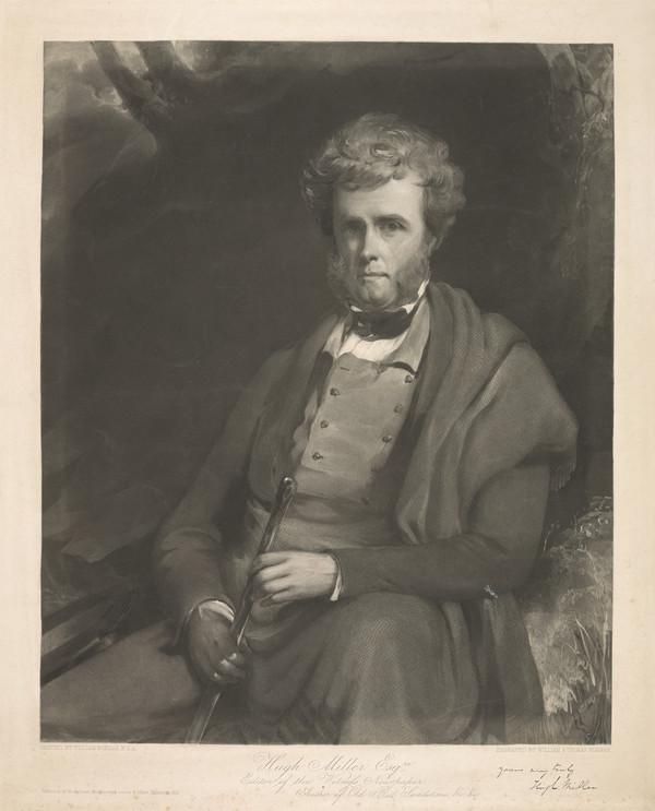 Hugh Miller, 1802 - 1856. Geologist and author (Published 1857)