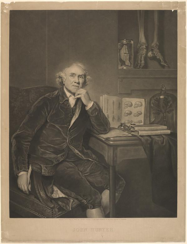 John Hunter, 1728 - 1793. Surgeon and anatomist (Published 1836)