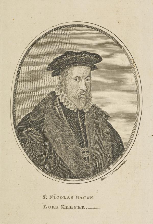 Sir Nicholas Bacon, 1509 - 1579. Lord Keeper