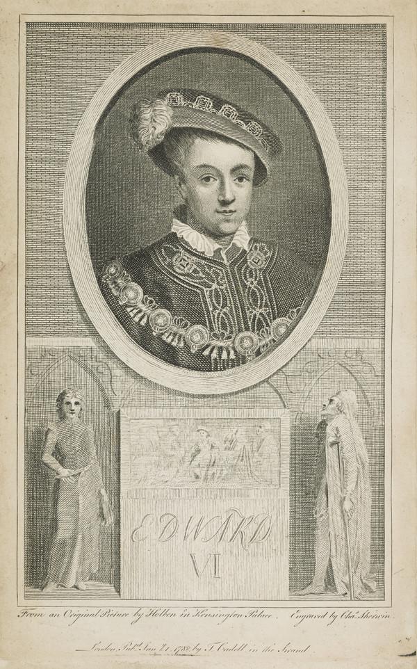 Edward VI, 1537 - 1553. King of England (Published 1788)