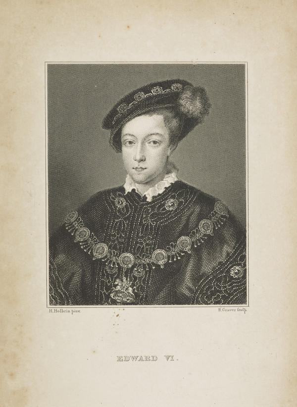 Edward VI, 1537 - 1553. King of England