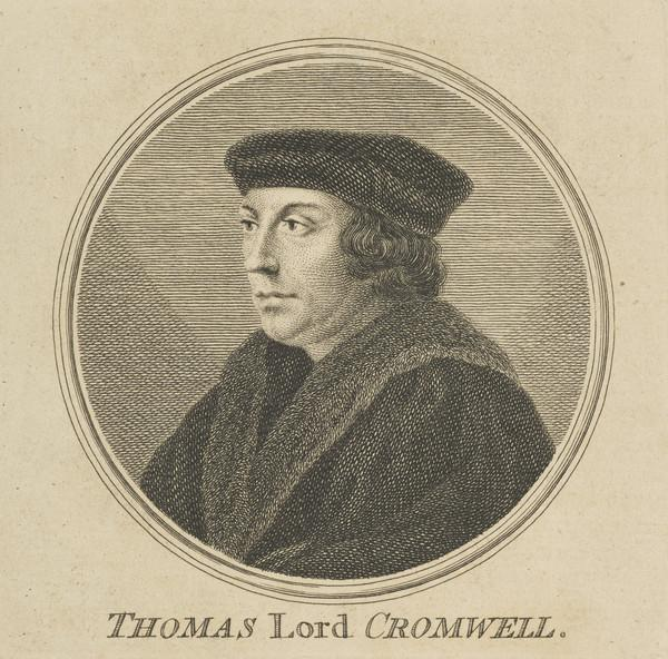 Thomas Cromwell, Earl of Essex, c 1485 - 1540. Minister of Henry VIII (1757)
