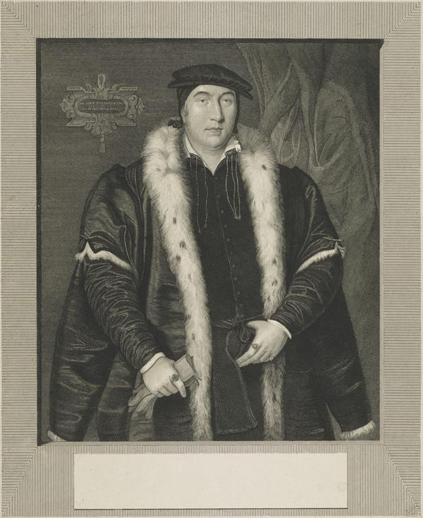 Sir Thomas Pope, c 1507 - 1559. Founder of Trinity College, Oxford