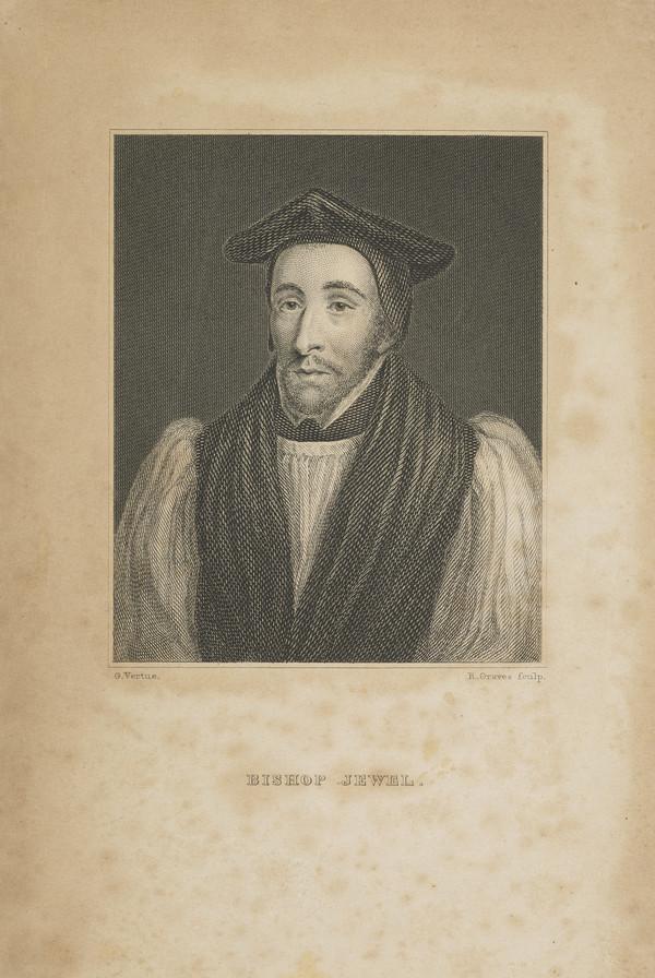 John Jewel, 1522 - 1571. Bishop of Salisbury