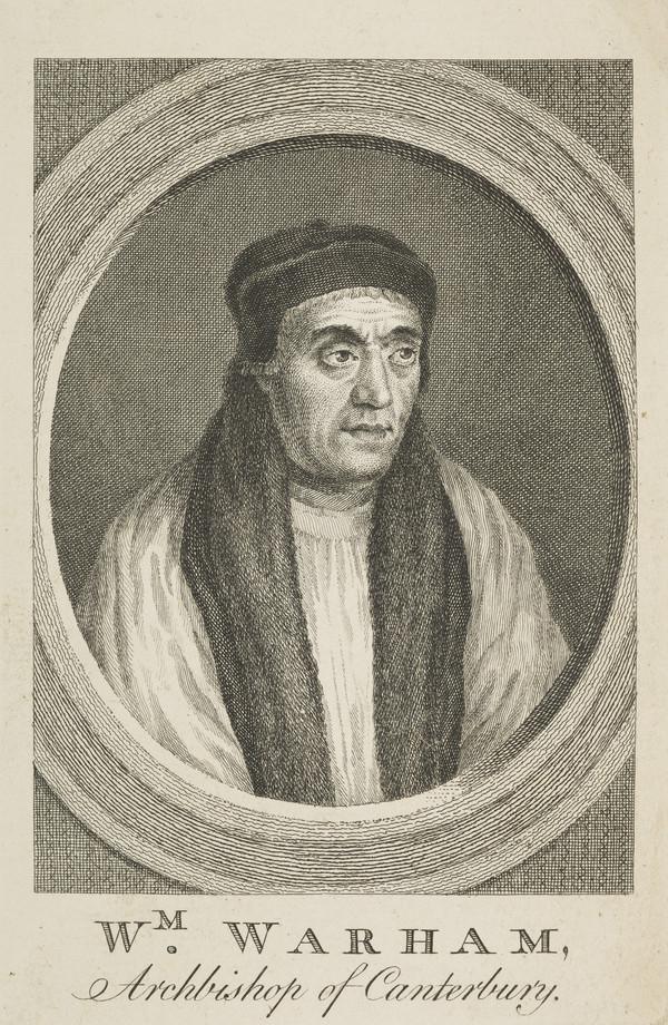 William Warham, 1450 - 1532. Archbishop of Canterbury