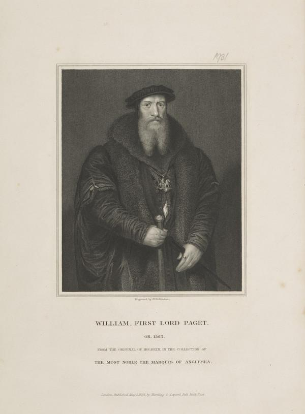 William Paget, 1st Baron Paget, 1505 - 1563 (Published 1834)
