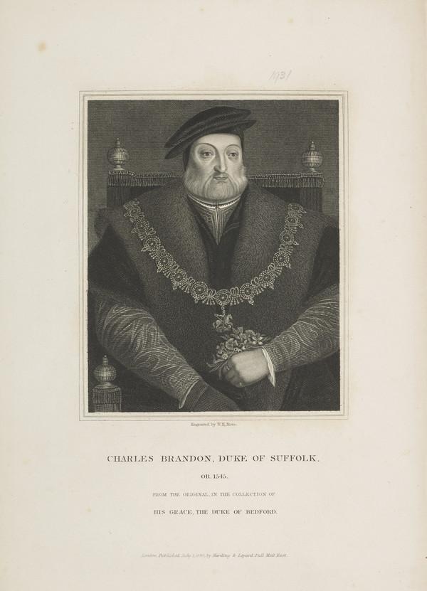Charles Brandon, 1st Duke of Suffolk, 1484 - 1545. Favourite of Henry VIII